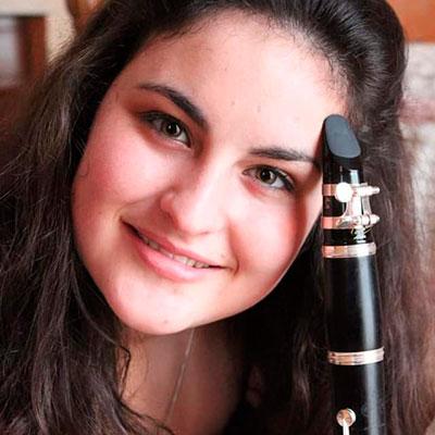 Ana Cláudia Pereira, clarinetista, de Espinho