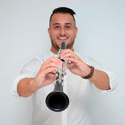 Luís Sampaio, clarinetista, de Felgueiras