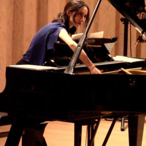 Inês Lopes, pianista, do Porto