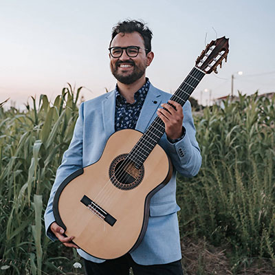 Filipe Neves Curral, guitarrista, do Porto