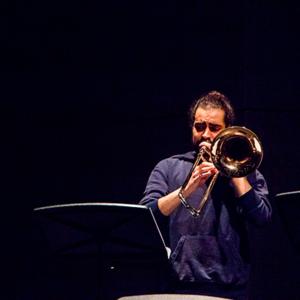 Daniel Martins, trombonista, de Lisboa