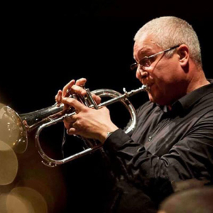 Abílio Coelho, trompetista, de Palmela