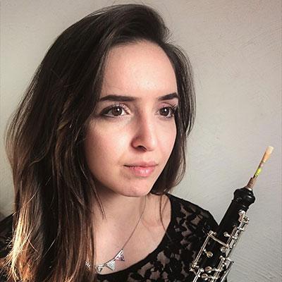 Bárbara Patrício, oboé