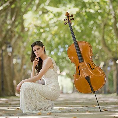 Gabriela Magalhães, violoncelista, de Ponte de Lima
