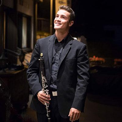 Joel Cardoso, clarinetista, de Vieira do Minho
