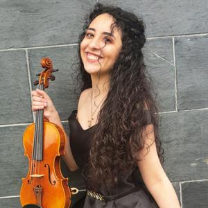Mariana Cabral, violinista, de Santa Maria da Feira