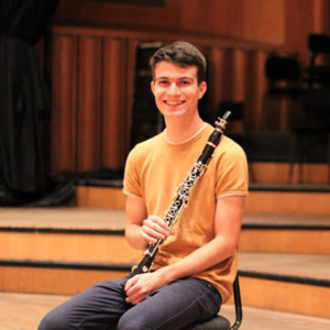 Pedro Minhava Reis, clarinetista, de Montalegre